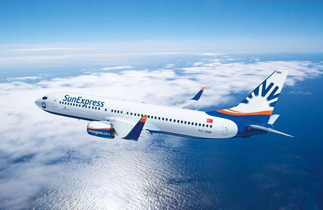 SunExpress En İyi Tatil Hava Yolu Seçildi