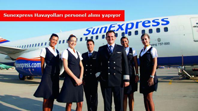 Sunexpress Havayolları, hostes alımı yapıyor