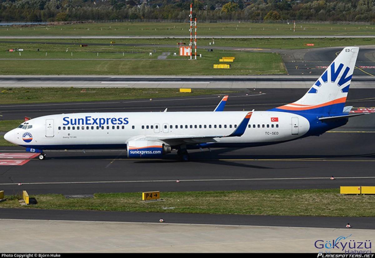 SunExpress Munih uçağı geri döndü!
