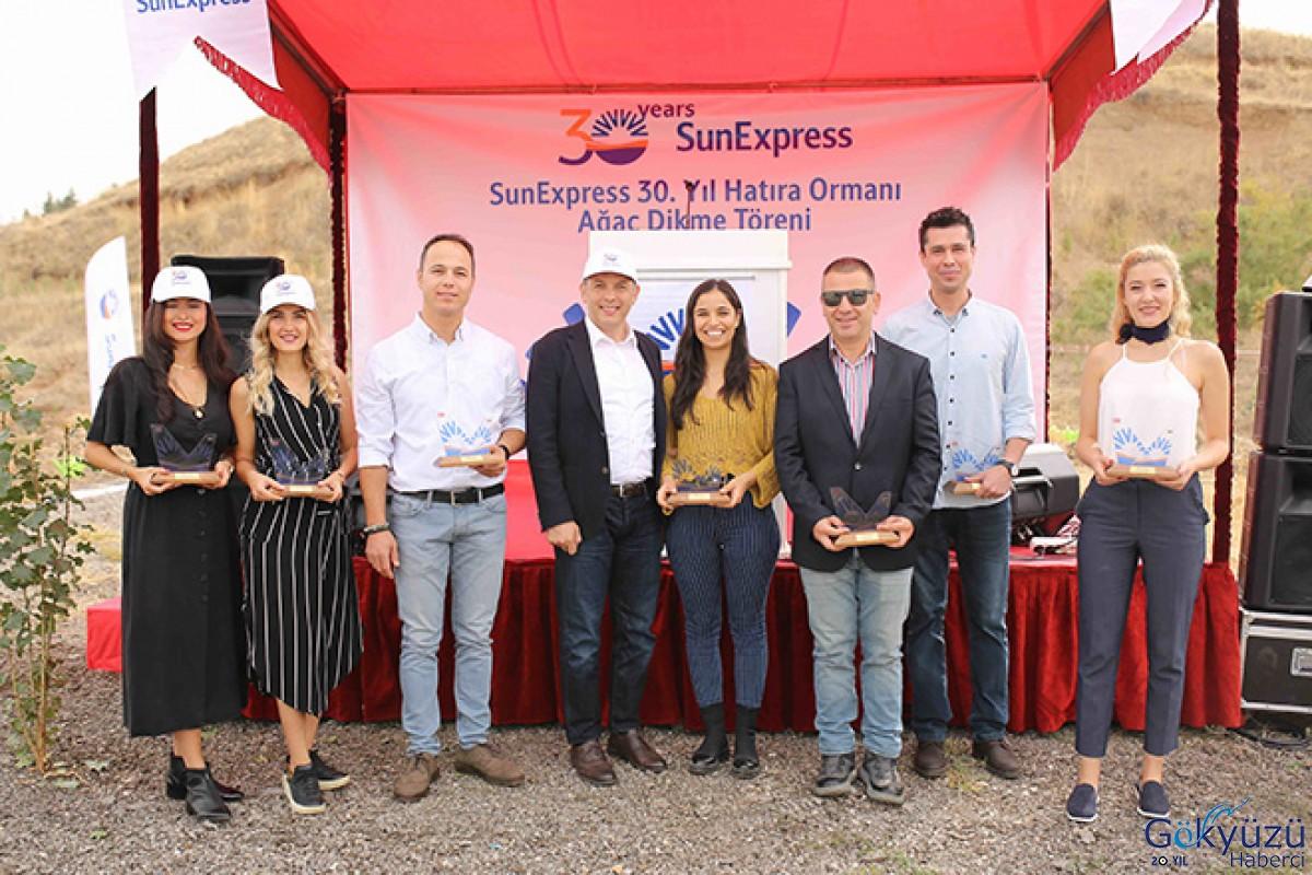 SunExpress'ten Ankara'da 'SunExpress 30. Yıl Hatıra Ormanı'