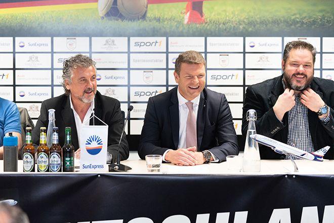 SunExpress, Türk-Alman dostluk maçına ana sponsoru oldu