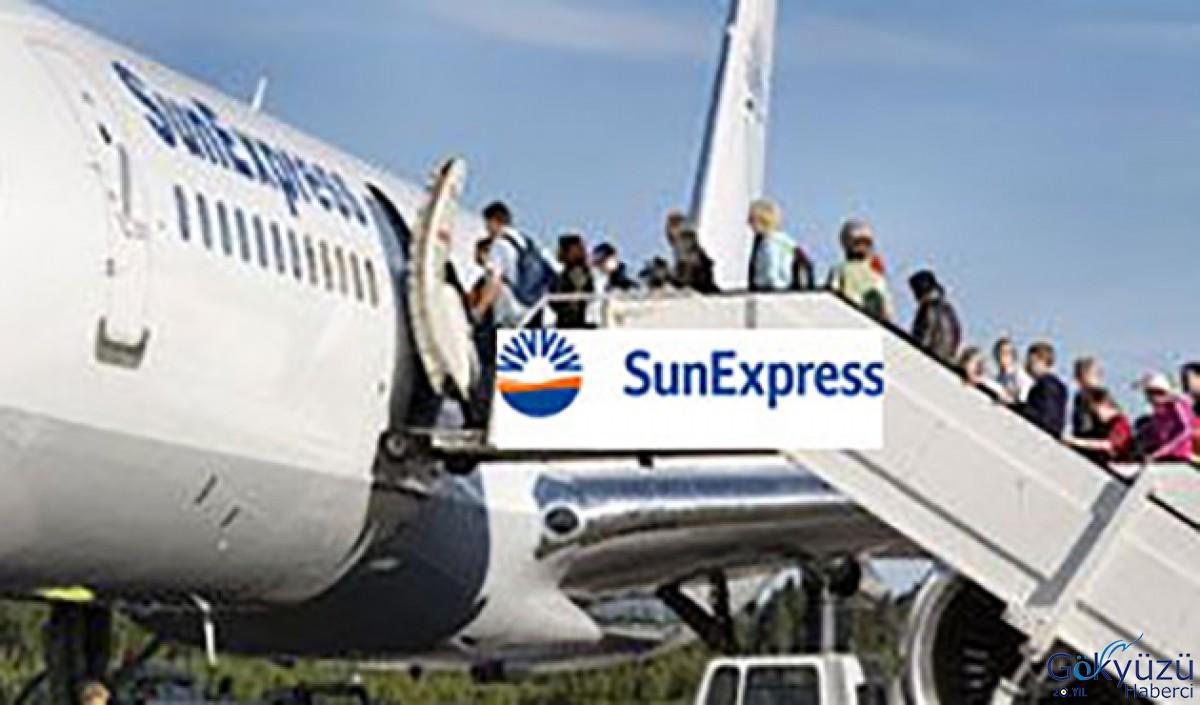 Sunexpress Uçağındaki yolcunun ateşi 39 derece çıktı!