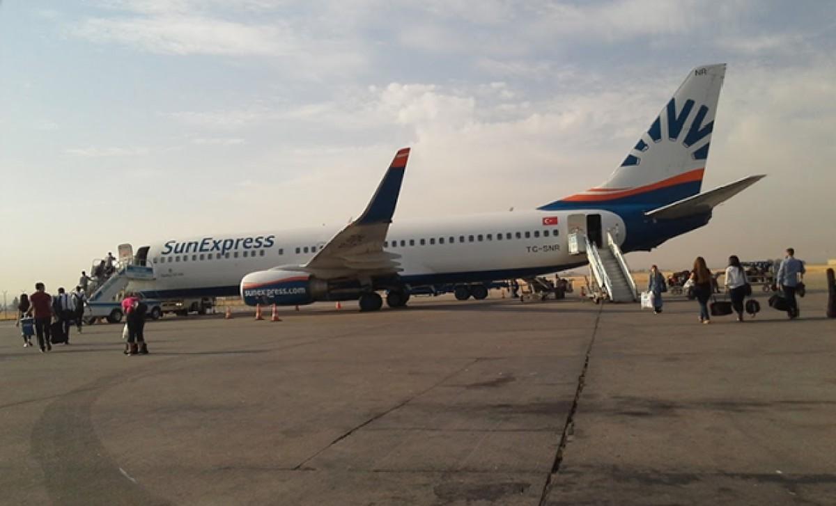 SunExpress'ten Diyarbakır Havalimanı açıklaması