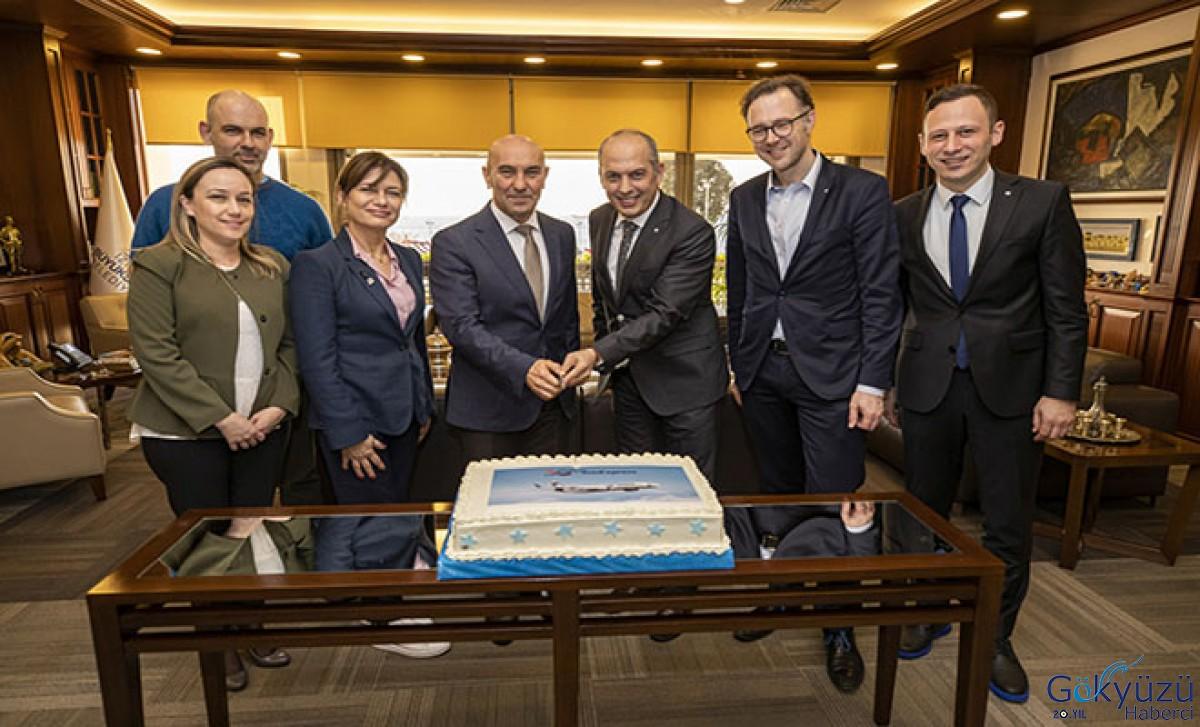 SunExpress'ten İzmir Büyükşehir Belediye Başkanı'na ziyaret