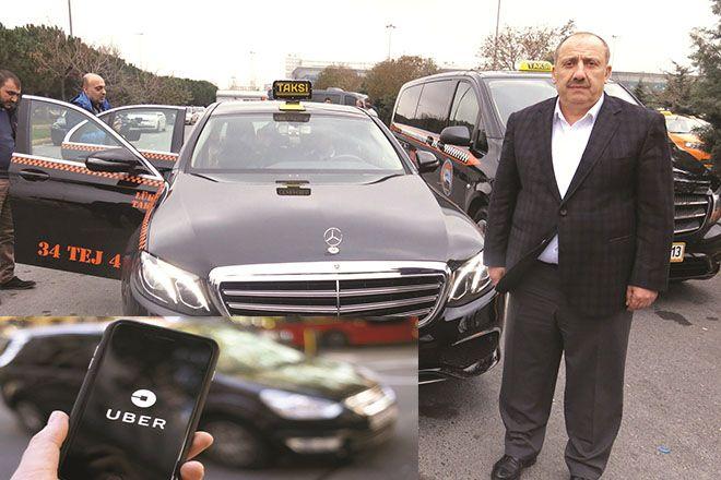 Taksicilerin Uber isyanı