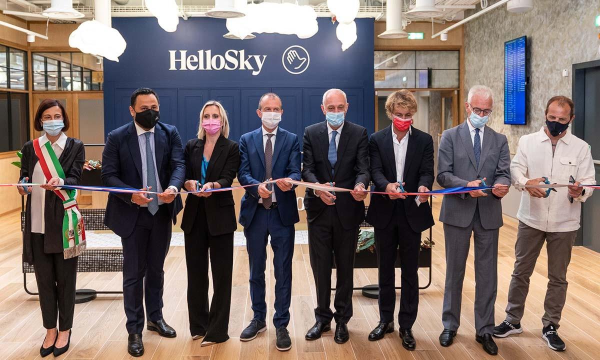 TAV 'HelloSky' Lounge ile Milano Bergamo Havalimanı'nda