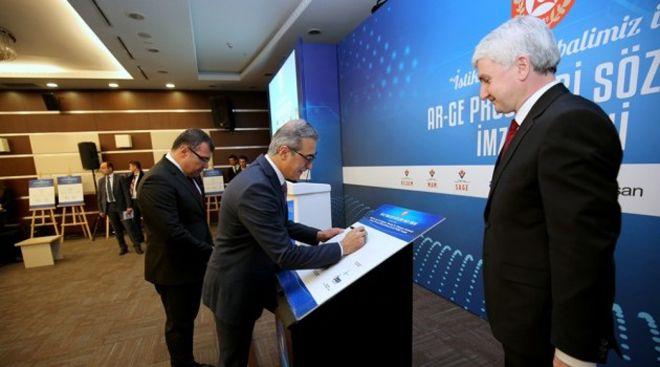 TEI'nin 3 yeni Ar-Ge projesinde imzalar atıldı
