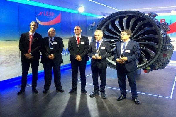 TEI'ye Paris Air Show'da