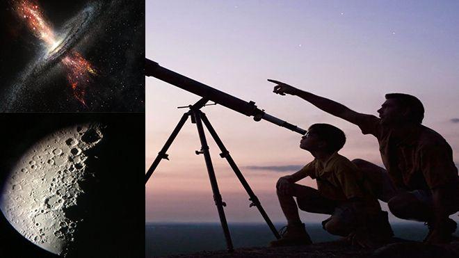 Teleskop ile Jüpiter, Satürn ve Venüs gözlemi