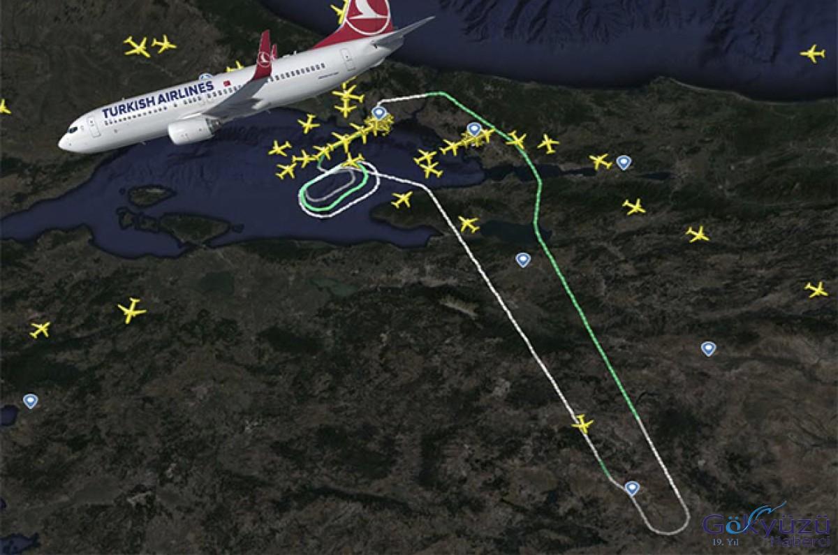 THY Cidde uçağı arıza yüzünden geri döndü!