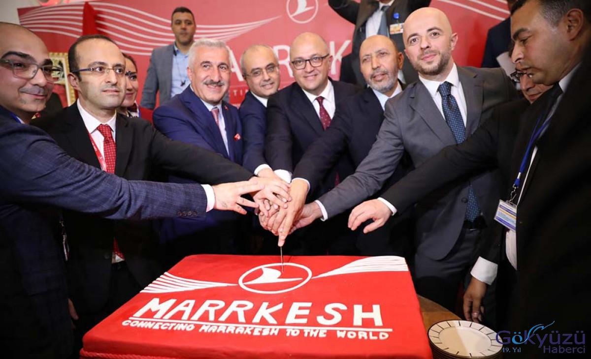 THY, Fas'ın kızıl şehri Marakeş'i uçuş ağına ekledi