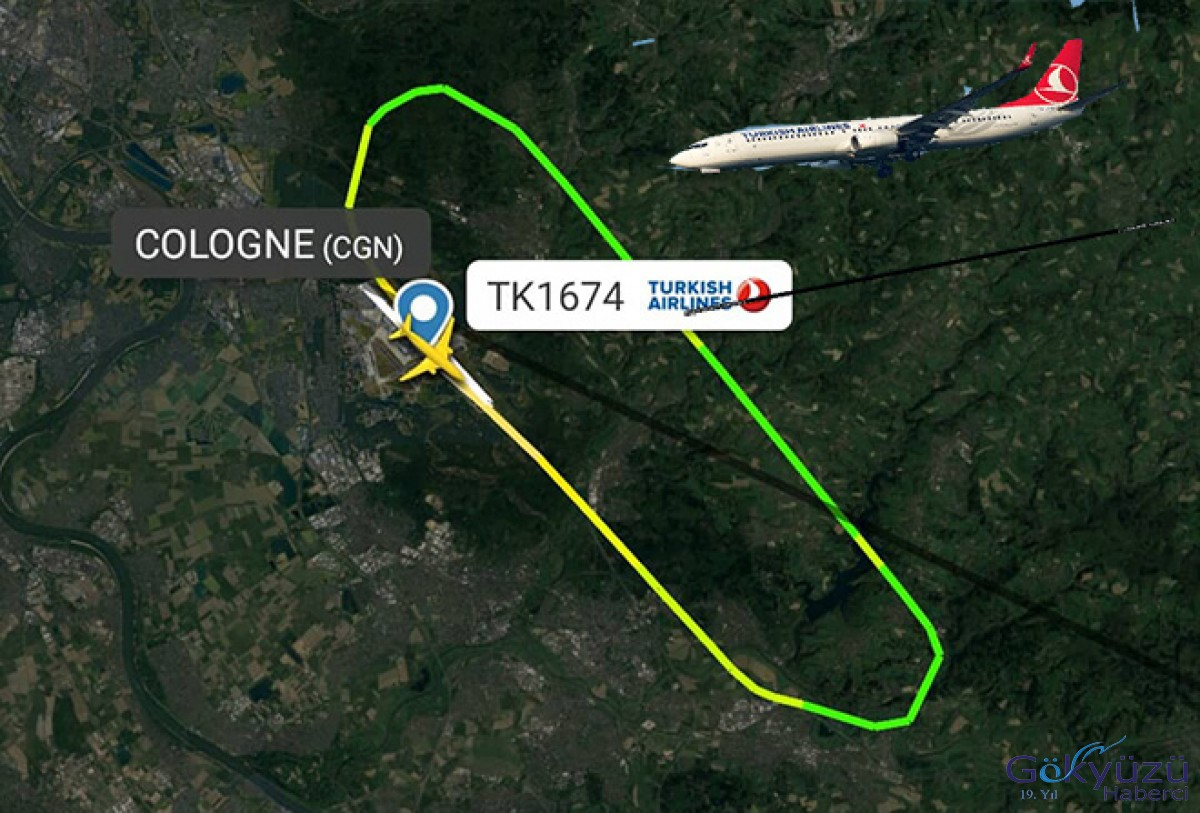 THY İstanbul uçağı geri döndü!