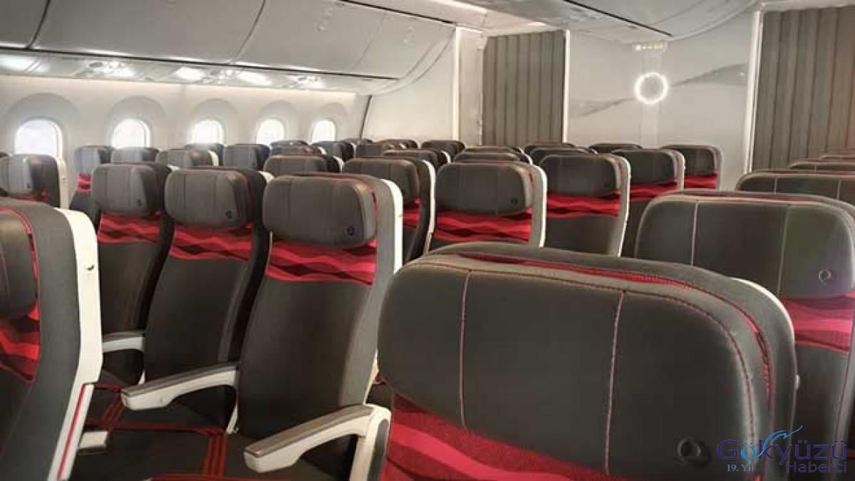 THY'nin Dreamliner'larına yerli koltuk