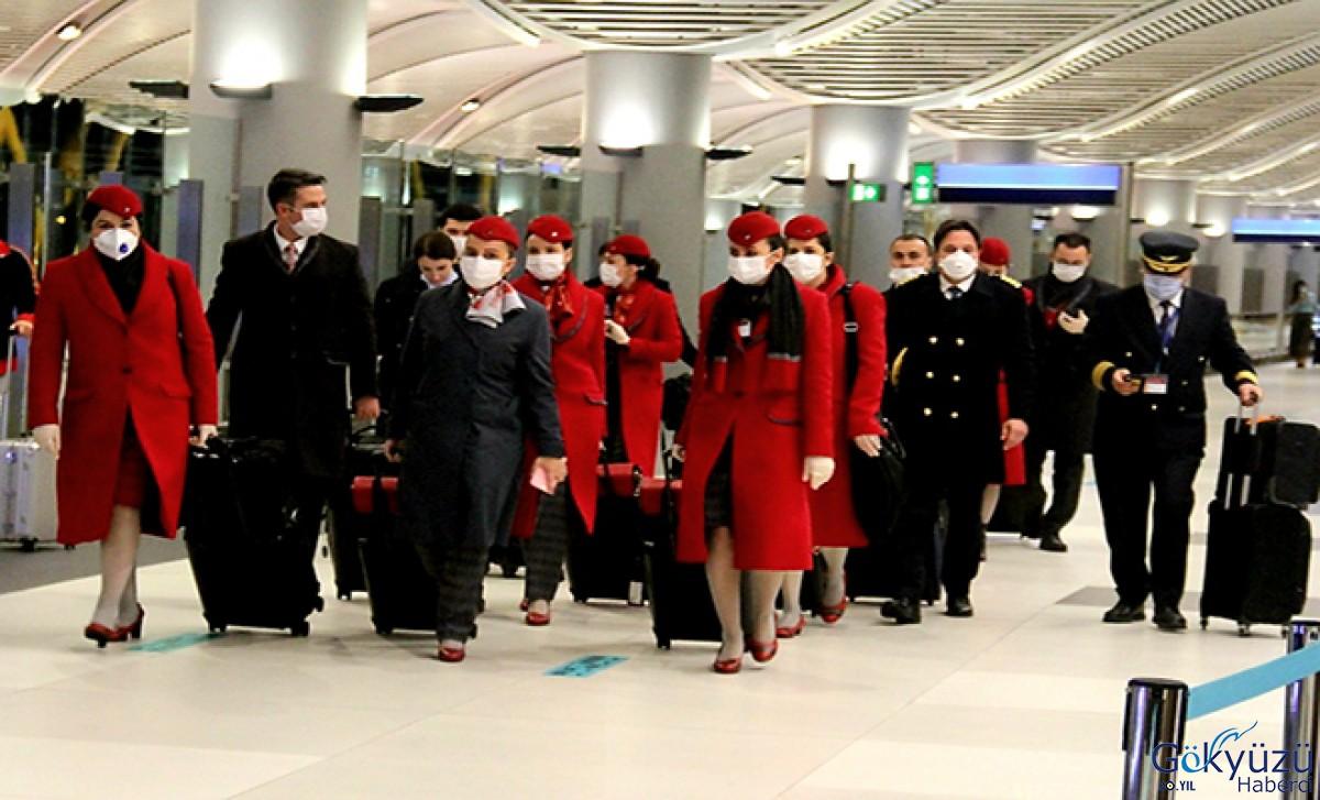 THY'nin Hostes,Pilotları Çin'den döndü!