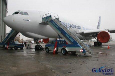 Uçak eylül ayında airbus tarafından thy ye teslim edilecek