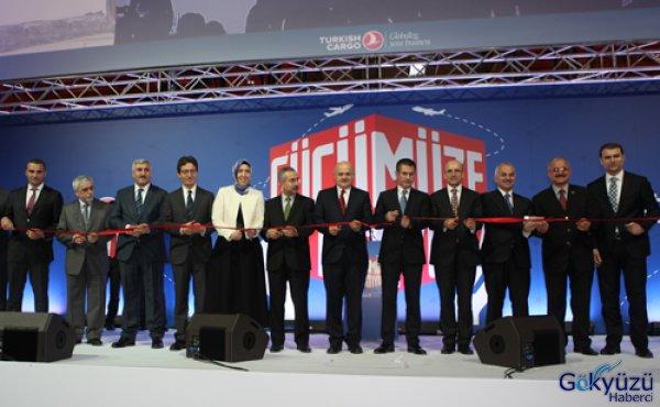 THY'nin Yeni Korgo Terminali Hizmete Açıldı