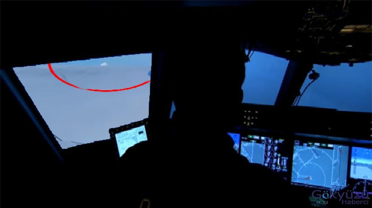 THY pilotu UFO gördü!