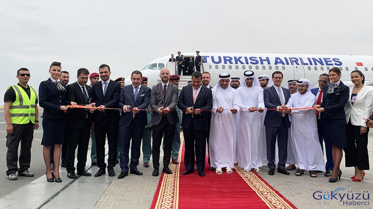 THY, Sharjah'ı uçuş ağına ekledi