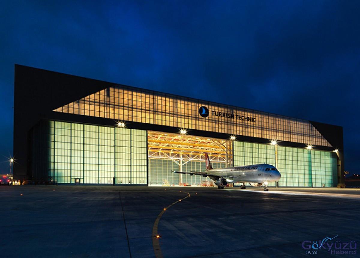 THY Teknik 225 uçağa bakım yaptı!
