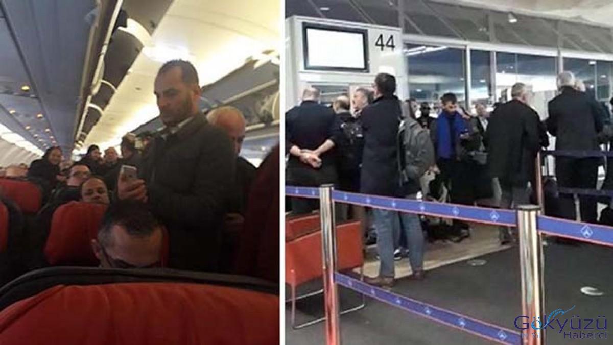 THY uçağı kalkışta arıza yaptı, yolcular isyan etti!