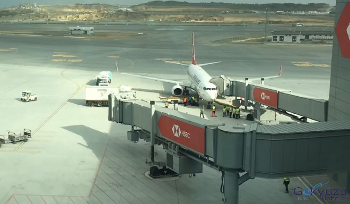 THY uçağında bomba ihbarı!