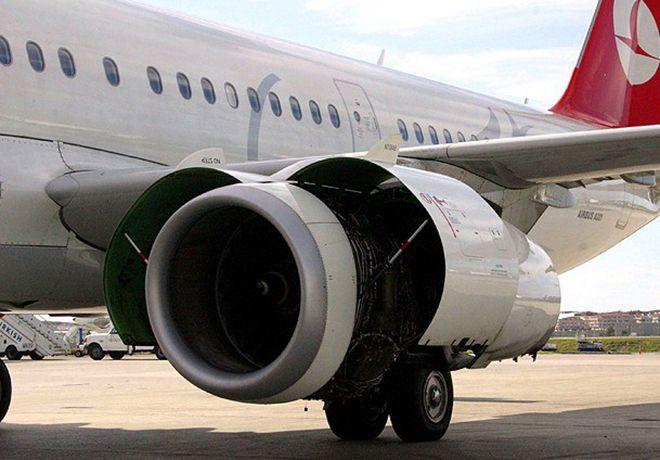 THY uçağında korkutan arıza!