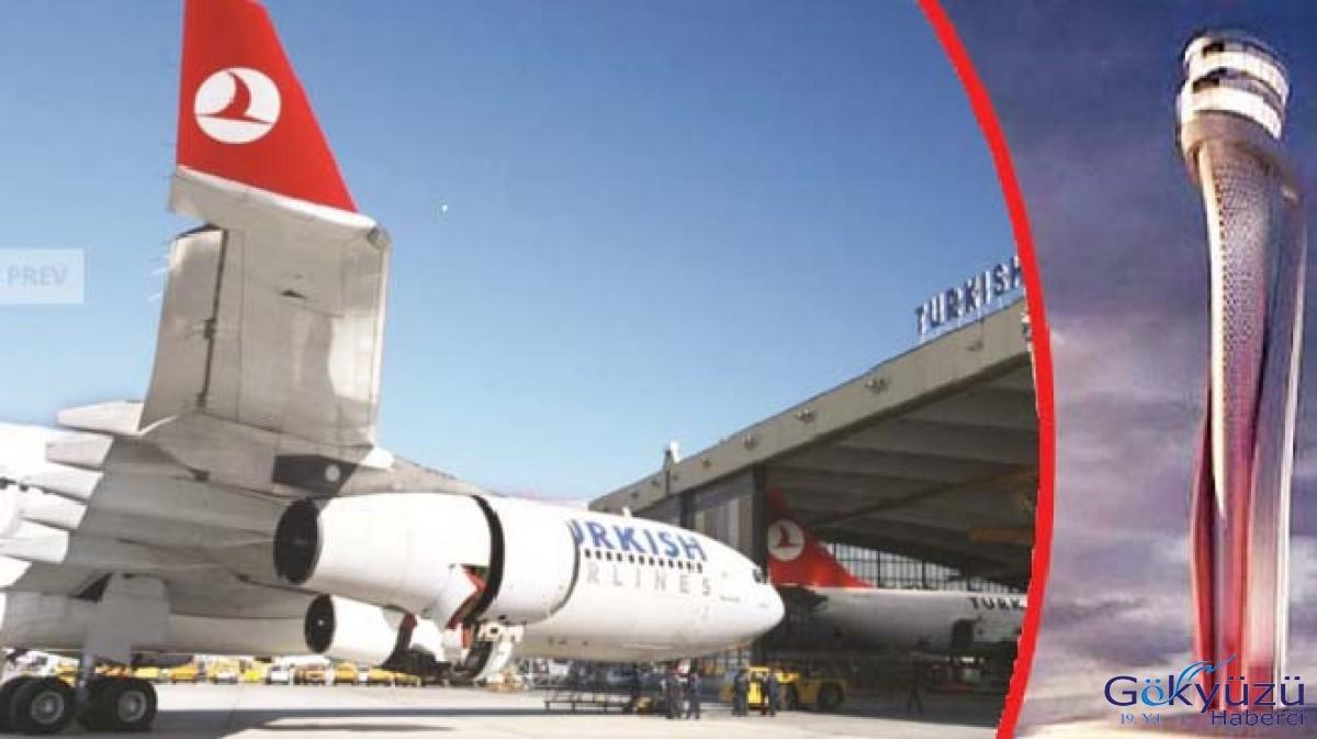 THY uçak bakım Hangarı olmayan İGA'ya taşınıyor!