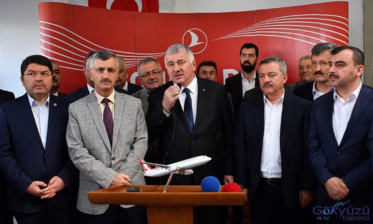 THY Zonguldak seferlerine başladı!