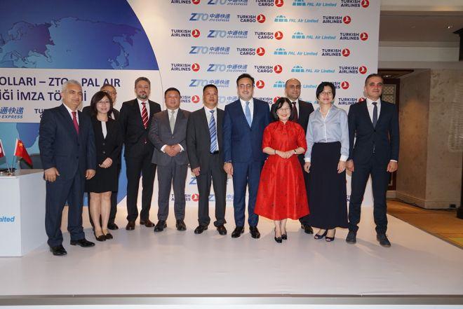 THY , ZTO ve PAL Air ile ortaklığa imza atıyor