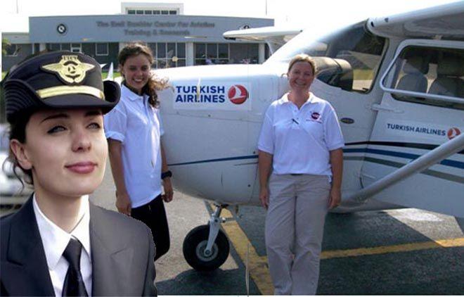 THY'de süt izninde çalıştırılan pilot istifa etti!