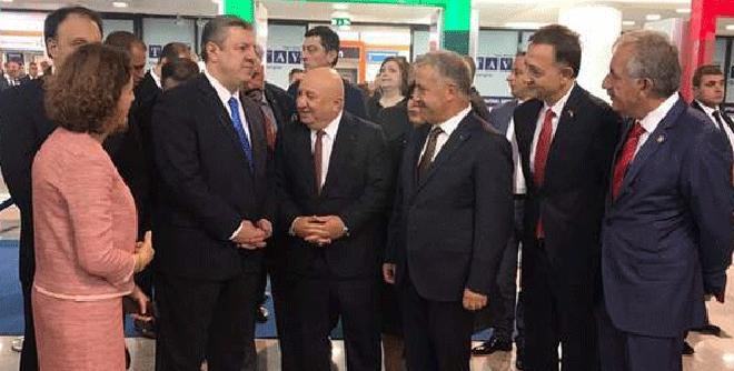 Tiflis Havalimanı Yeni Etabı Açılış Töreni