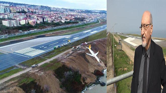 Trabzon Havalimanı'nda büyük tehlike