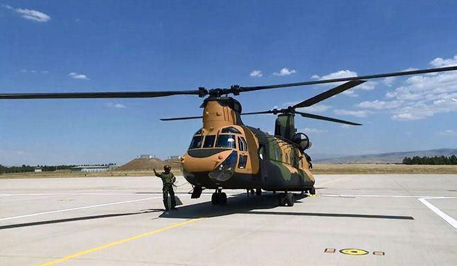 TSK 7. Helikopterini teslim aldı