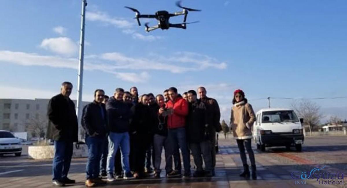 Turgutlu'da Gazeteciler Drone Eğitimi Aldı