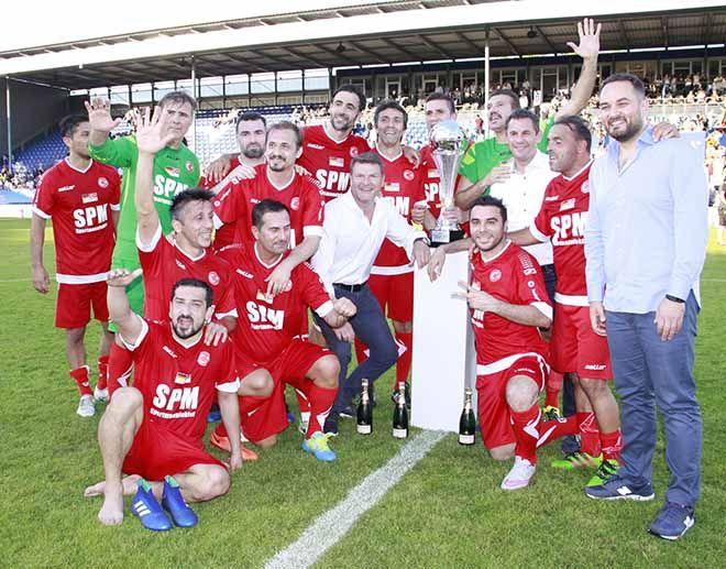 Türk-Alman dostluk maçı