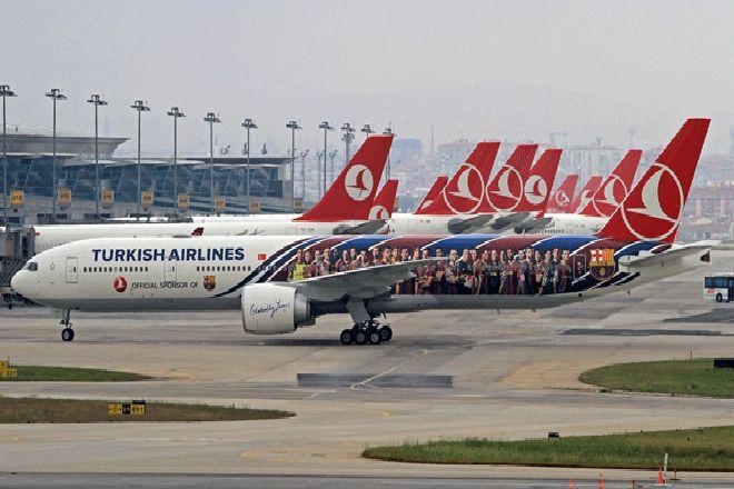 Türk Hava Yolları'na Güneş Sigorta Güvencesi