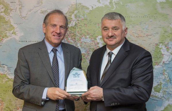 Türk Hava Yolları'na IATA'dan anlamlı ziyaret.
