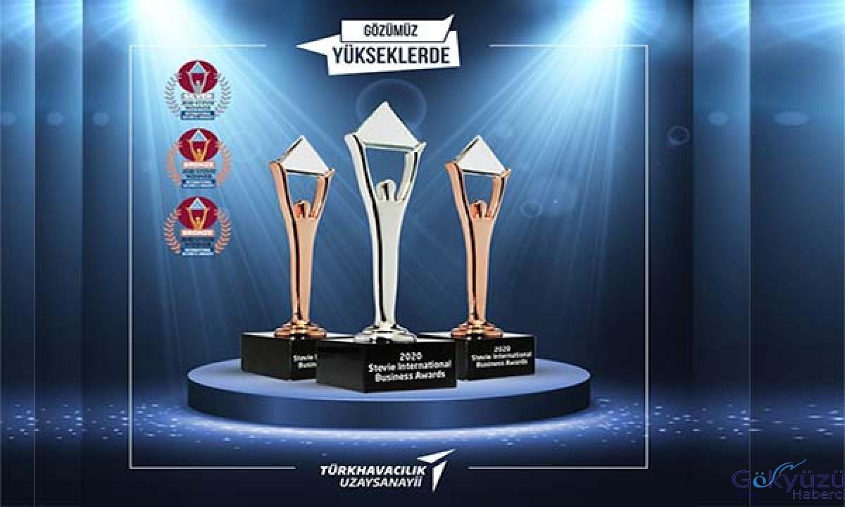 Türk Havacılık ve Uzay Sanayii 3 ödül birden layık görüldü