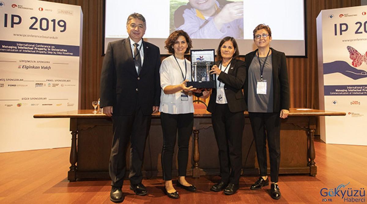 Türk Havacılık ve Uzay Sanayii A.Ş'ye (TUSAŞ) ödül