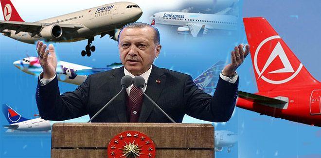 Türk şirketleri, 3 milyar 221 milyon dolarlık uçak  aldı