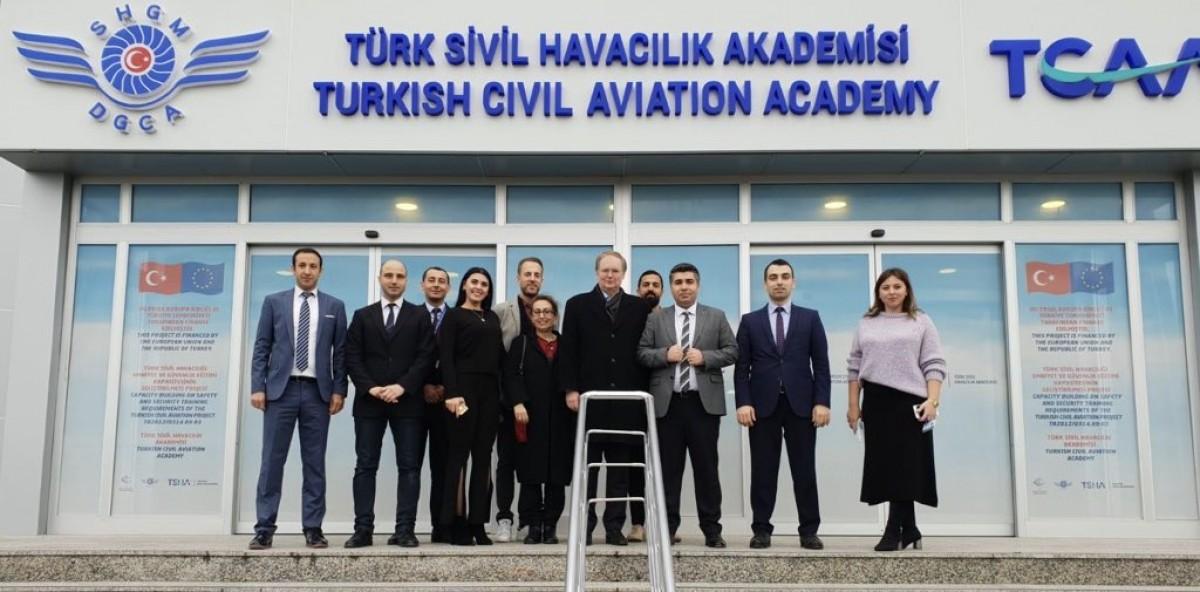Türk Sivil Havacılık Akademisi AB Büyükelçisi'ni ağırladı