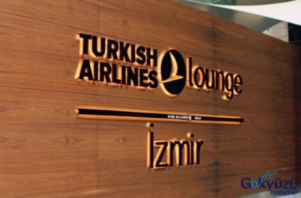 'Turkish Airlines Lounge İzmir' Yolcuların Hizmetinde