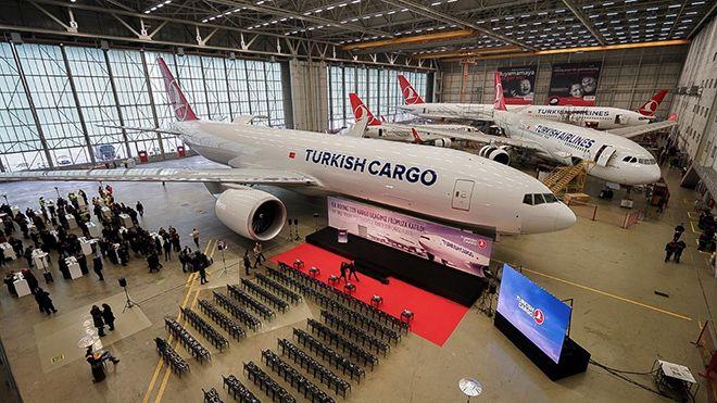 Turkısh Cargo'dan Tayvan'a tarifeli kargo seferi