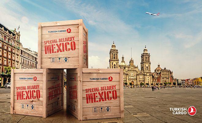Turkish Cargo, Mexico City'de