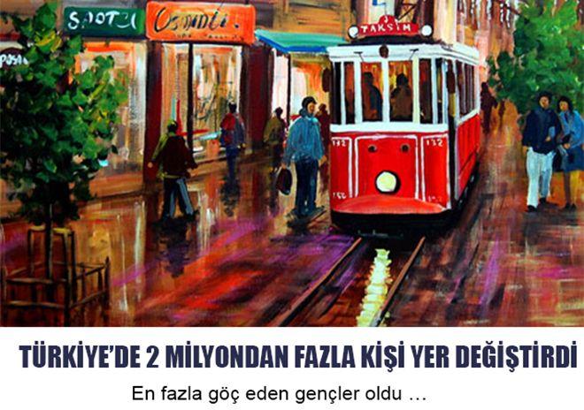 Türkiye'de En fazla göç eden gençler oldu ...