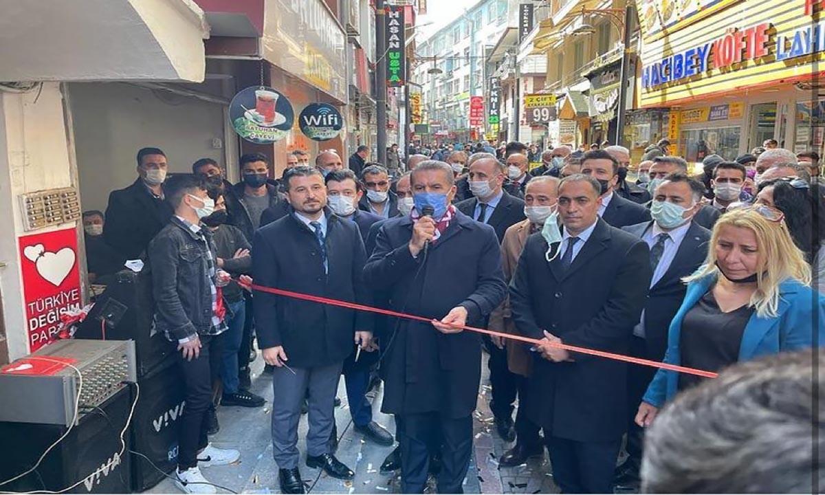 Türkiye Değişim Partisi, Elazığ İktidara Hazırlık Merkezini açtı