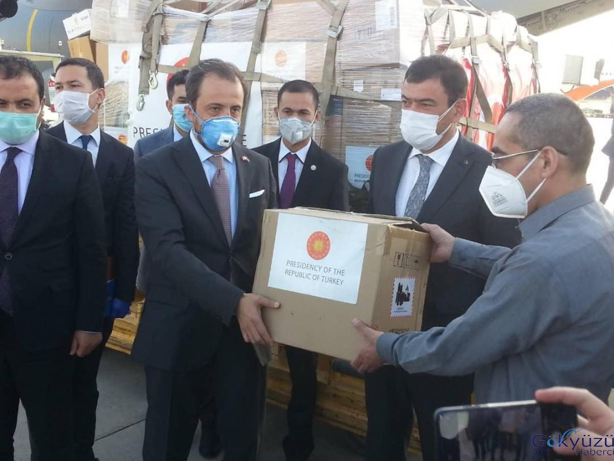 Türkiye'den Afganistan'a tıbbi malzeme yardımı