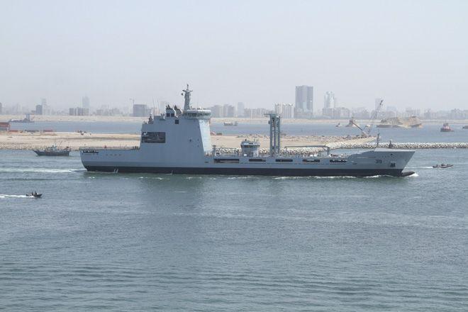 Türkiye'nin Gururu Pakistan'da Denize Açıldı.