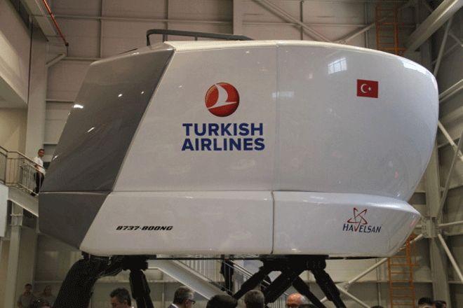 Türkiye'nin İlk Milli Sivil Uçuş Simülatörü