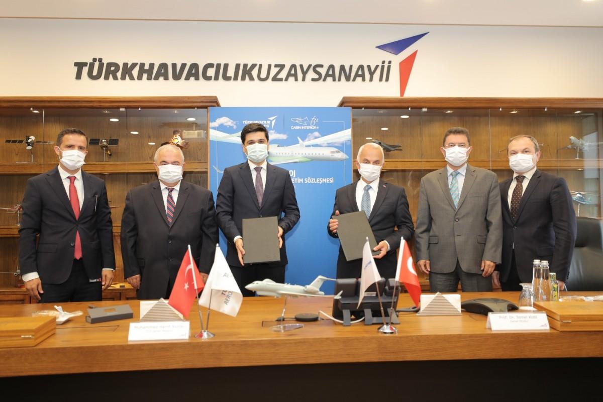 TUSAŞ 'HAVA SOJ' projesinde yeni iş birliğine adım attı